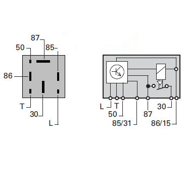 0 133 04 Durite 12v Glow Plug Controller